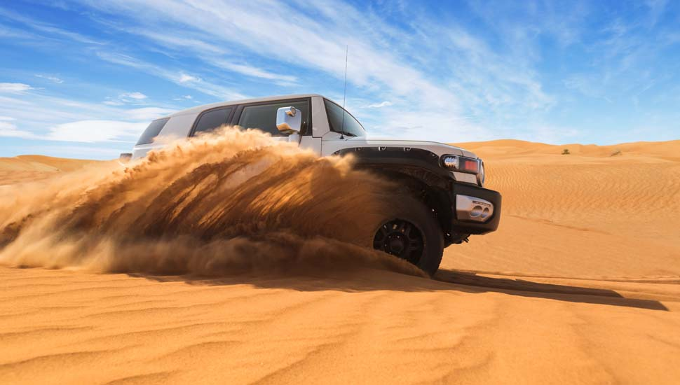 Sand Dune Safari in Dubai
